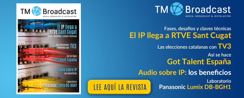 El IP de Sant Cugat en TM Broadcast