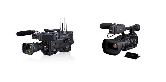 La serie Connected Cam de JVC incorpora el protocolo SRT