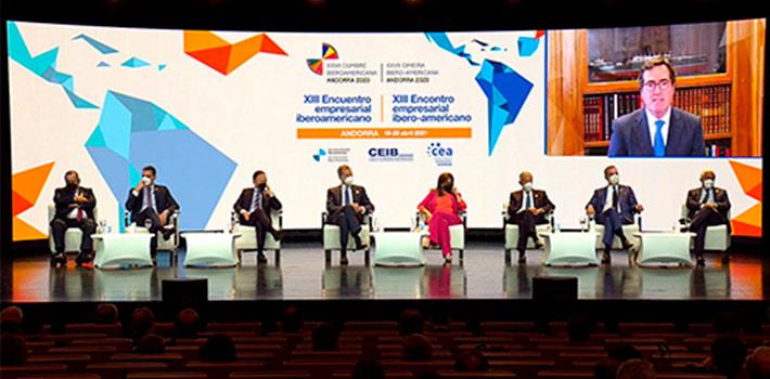 Mediapro realiza la producción del XIII Encuentro Empresarial Iberoamericano