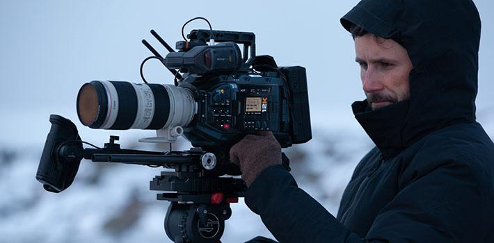 El modelo URSA Mini Pro 12K de Blackmagic conquista el Ártico