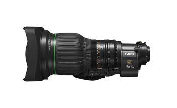 Canon estrena su nuevo objetivo BCTV 4K para broadcast