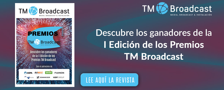 Ganadores de los Premios TM Broadcast