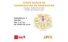 """Film Madrid Forma lanza el """"Curso Básico de Coordinación de Producción para Proyectos Audiovisuales"""""""
