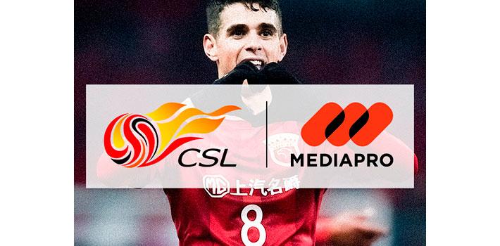 Mediapro comercializará los derechos internacionales de la Superliga China