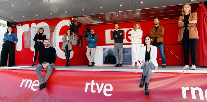 Toledo acoge el estreno del nuevo estudio móvil de RNE