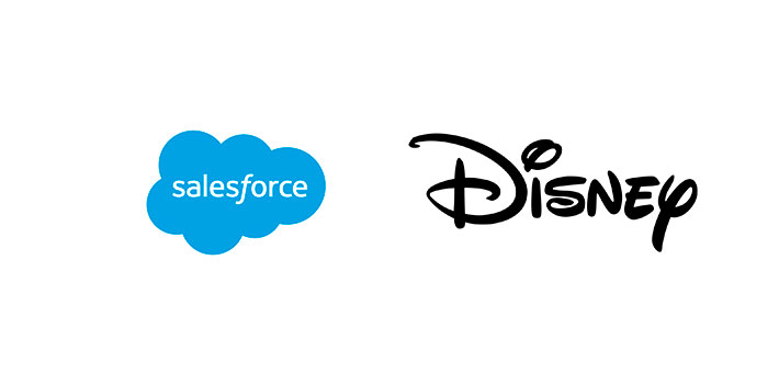 Alianza entre Salesforce y Disney para mejorar la producción de contenidos