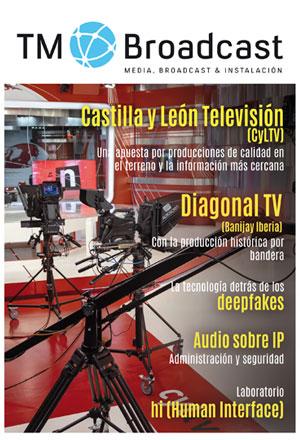 Castilla y León Televisión en TM Broadccast