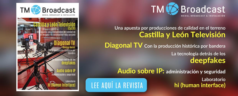 Castilla y León TV en TM Broadcast
