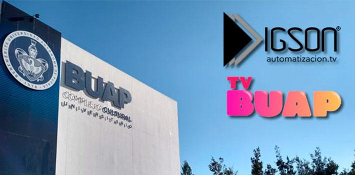 TV Buap se lanza en México de la mano de Igson