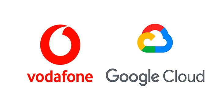 Alianza entre Vodafone y Google para desarrollar plataformas de datos