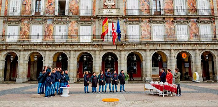 Los fogones de Masterchef aterrizan en la Plaza Mayor de Madrid