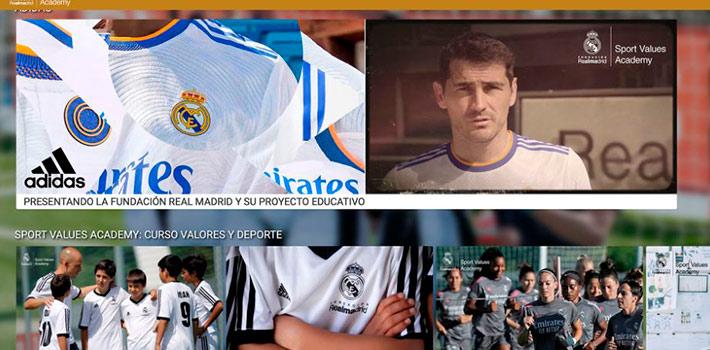 La Fundación Real Madrid estrena plataforma OTT