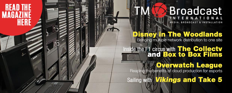 Disney in TM Broadcast Magazine