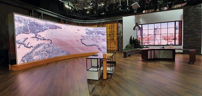 Pantallas Alfalite en RTVE
