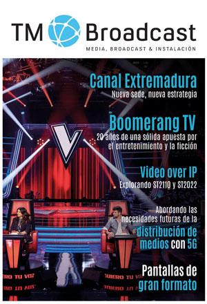 Boomerang TV y Canal Extremadura en TM Broadcast