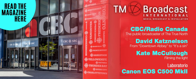 CBC Canada in TM Broadcast